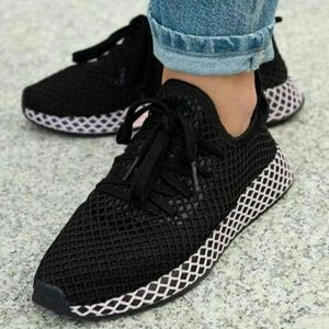 Women's Adidas Deerupt Runner W Black Pink